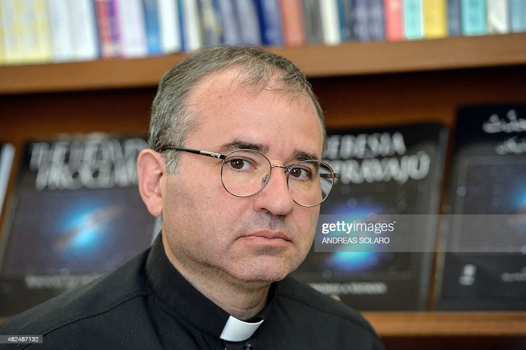 Father <b>Jose Funes</b>, director of the Vatican Astronomical Observatory, <b>...</b> - father-jose-funes-director-of-the-vatican-astronomical-observatory-picture-id482487132