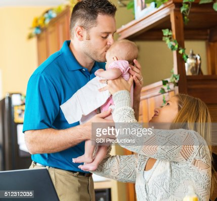 Mom Leaving Baby Work Stock Photos and Pictures   Getty Images
