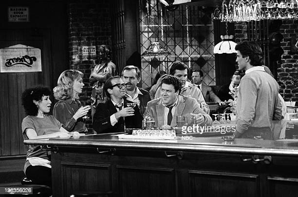 CHEERS 'Father Knows Last' Episode 15 Air Date Pictured Rhea Perlman as Carla Tortelli Shelley Long as Diane Chambers Mark King as Marshall Lipton...