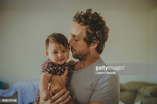 Father Loves 5 Month Old Daughter