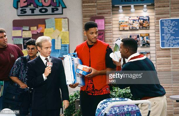 AIR 'Father of the Year' Episode 4 Pictured James Gleason as Jake Maxwell Will Smith as William 'Will' Smith Alfonso Ribeiro as Carlton Banks