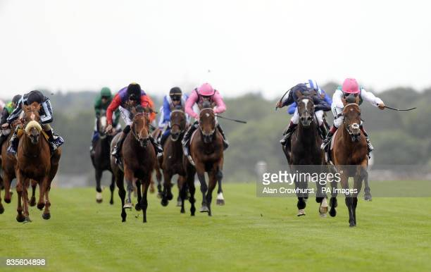 Father Time and Eddie Ahern go on to win The King Edward VII Stakes during day four of The Royal Ascot at Ascot Racecourse Berkshire