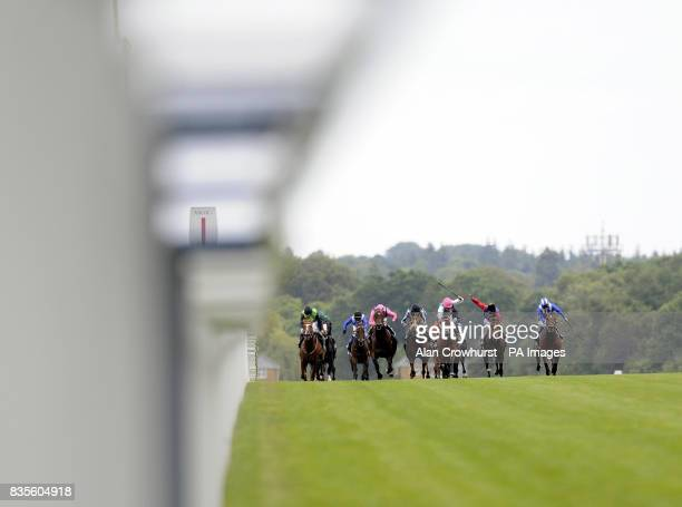 Father Time and Eddie Ahern lead to win The King Edward VII Stakes during day four of The Royal Ascot at Ascot Racecourse Berkshire