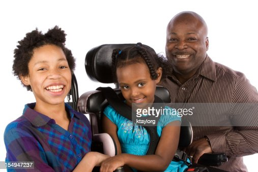 Dad with daughters