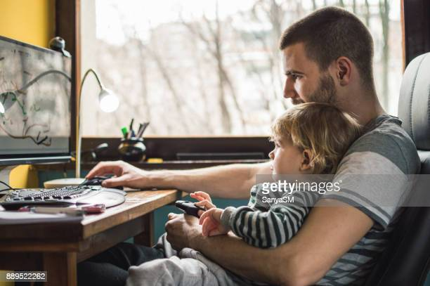 Père, travail à domicile
