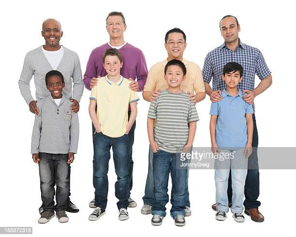 Fathers and Sons - Multi Ethnic