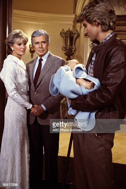 DYNASTY 'Fathers and Sons' Season Three 3/3/83 Excitement brewed in the Carrington household as Krystle and Blake prepared for Steven's return and...