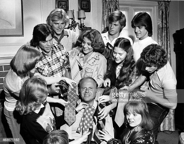 ENOUGH Father's Day OnSet Gallery with Cast and Van Patten's Sons Shoot Date May 12 1977 CLOCKWISE ADAM RICHDIANNE KAYLAURIE WALTERSGRANT GOODEVENELS...