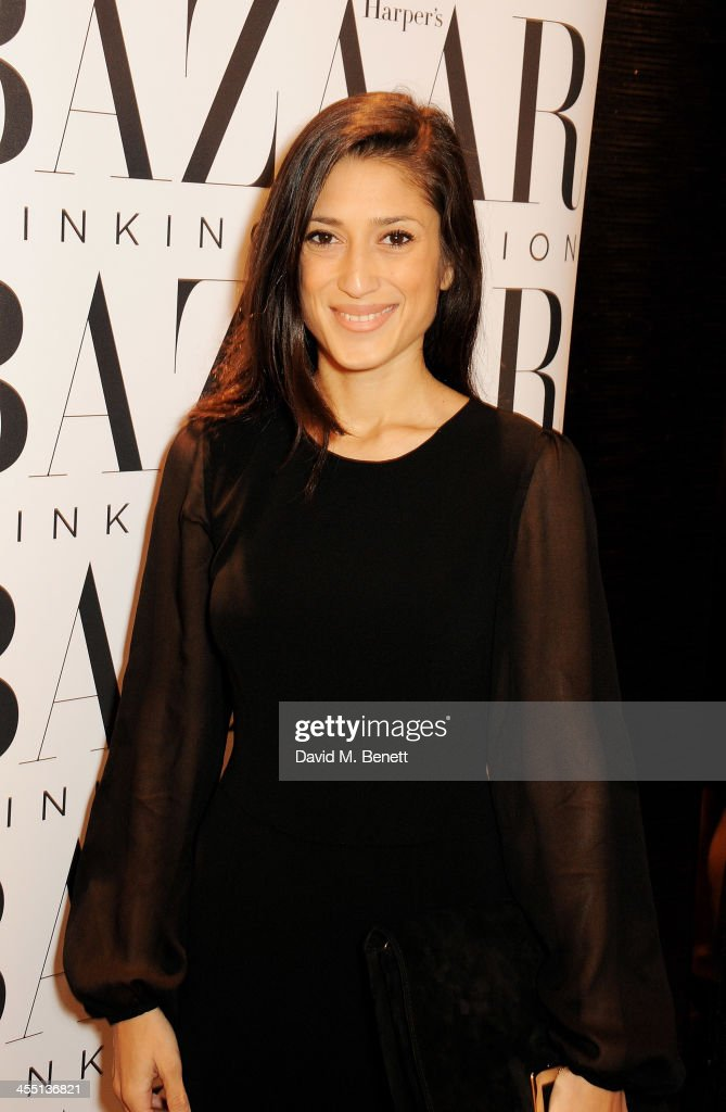 Fatima Bhutto attends the ESCADA/Harper's Bazaar book reading with Fatima Bhutto, reading from her novel 'The Shadow Of The Crescent Moon', at the ESCADA Knightbridge boutique on December 11, 2013 in London, England.