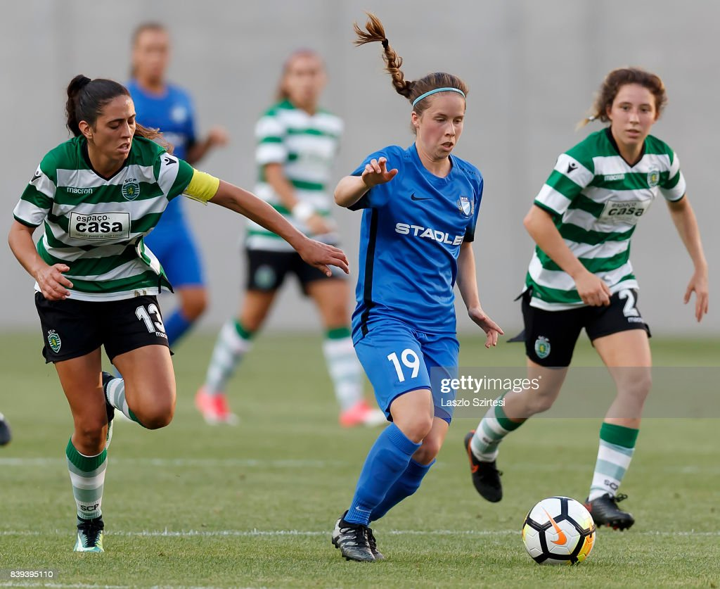 Sporting Clube de Portugal v MTK Hungaria FC UEFA Women s