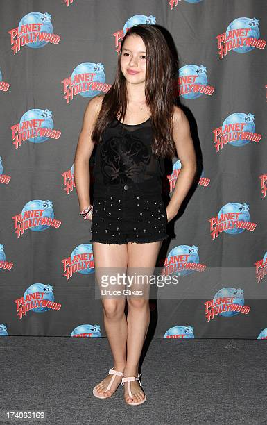 Fatima Ptacek poses at the 'Tio Papi' Photo Call at Planet Hollywood Times Square on July 19 2013 in New York City