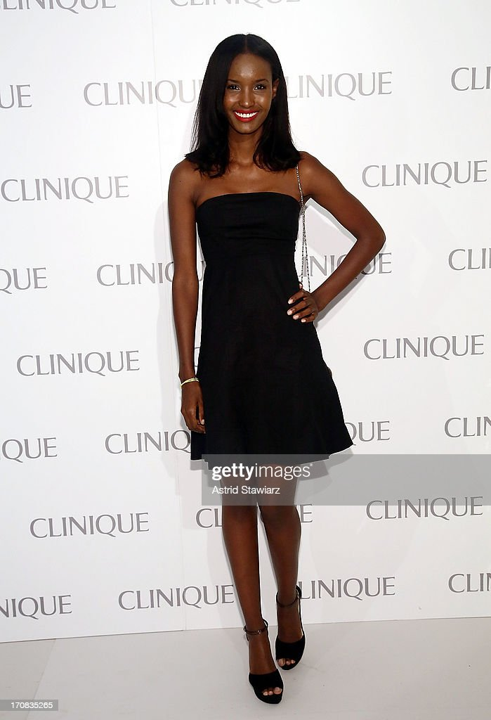 <a gi-track='captionPersonalityLinkClicked' href=/galleries/search?phrase=Fatima+Siad&family=editorial&specificpeople=5347666 ng-click='$event.stopPropagation()'>Fatima Siad</a> attends Dramatically Different Party Hosted By Clinique at 620 Loft & Garden on June 18, 2013 in New York City.