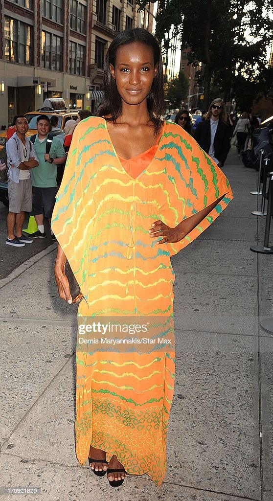 Fatima Siad is seen on June 19, 2013 in New York City.
