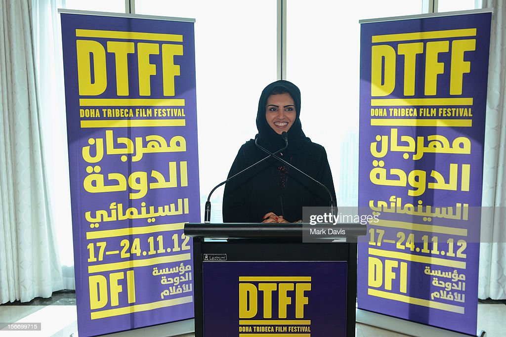Fatma Al Remaihi attends the Filmmakers Brunch during the 2012 Doha Tribeca Film Festival at Kempinski Sky Villa on November 19, 2012 in Doha, Qatar.