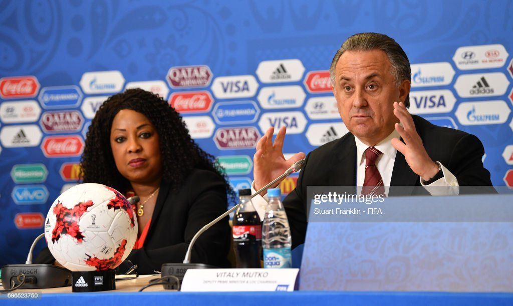 FIFA Confederations Cup Russia 2017 - Opening Press Conference