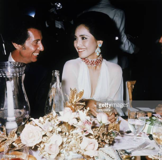 Fatmawati Sukarno widow of former President Sukarno of Indonesia at the annual Red Cross Gala in Monte Carlo Monaco circa 1975