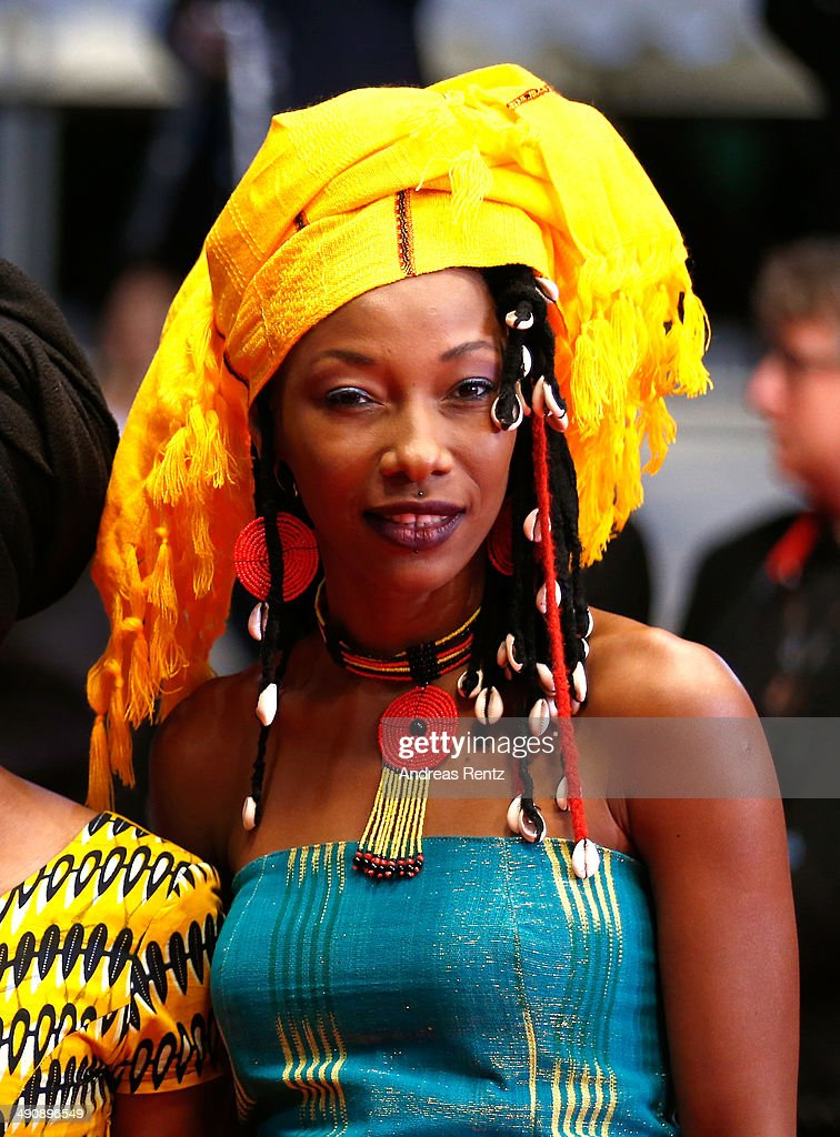 <a gi-track='captionPersonalityLinkClicked' href=/galleries/search?phrase=Fatoumata+Diawara&family=editorial&specificpeople=6928565 ng-click='$event.stopPropagation()'>Fatoumata Diawara</a> attends the 'Timbuktu' premiere during the 67th Annual Cannes Film Festival on May 15, 2014 in Cannes, France.