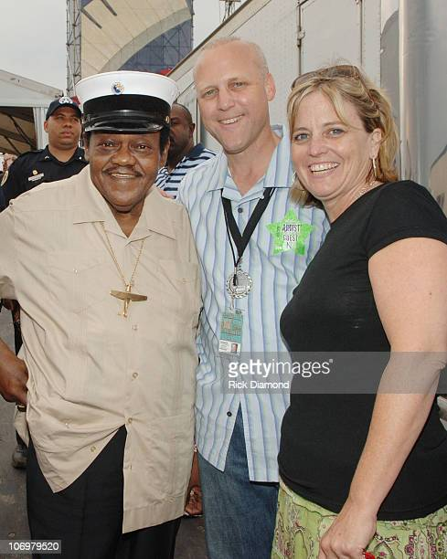 Fats Domino and New Orleans Mayoral Candidate Mitch Landrieu EXCLUSIVE