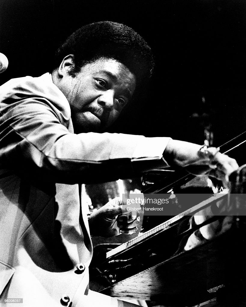 Fats Domino performs live on stage at Concertgebouw in Amsterdam, Netherlands in 1973