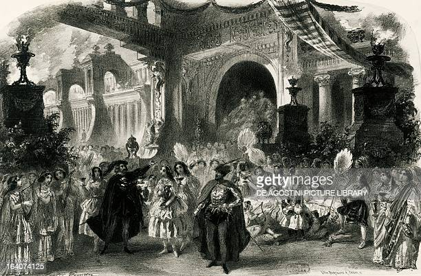 Faust Act III Scene II by Charles Gounod Paris 1859 Paris BibliothèqueMusée De L'Opéra National De ParisGarnier