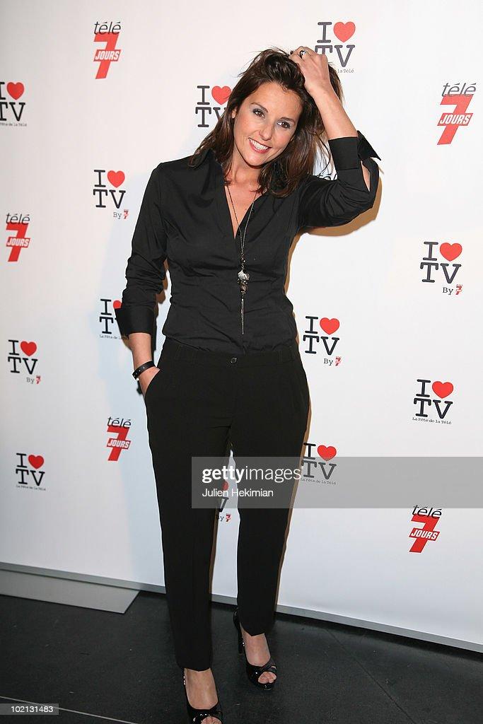 Faustine Bolaert attends the 1st edition of 'La Fete de la Tele' at Le Showcase on June 15, 2010 in Paris, France.