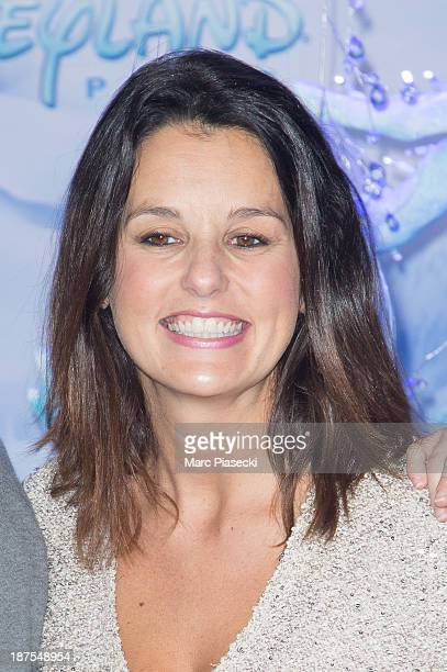 Faustine Bollaert attends the Christmas season launch at Disneyland Paris on November 9 2013 in Paris France