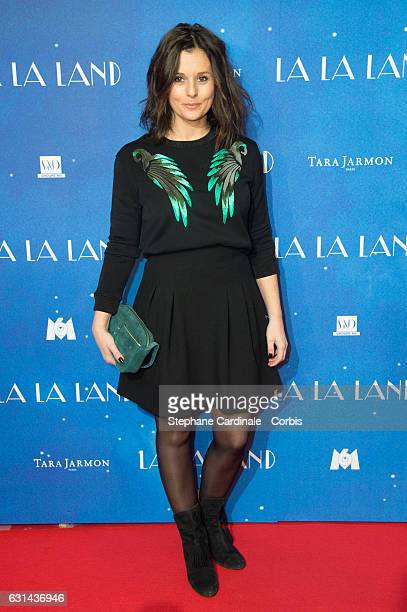 Faustine Bollaert attends the 'La La Land' Paris Premiere at Cinema UGC Normandie on January 10 2017 in Paris France