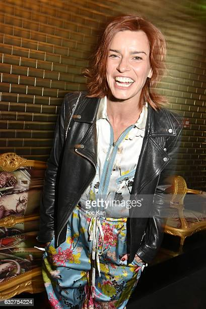 Fauve Hautot attend the Jean Paul Gaultier Haute Couture Spring Summer 2017 show as part of Paris Fashion Week on January 25 2017 in Paris France