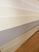 Faux wood blind colours