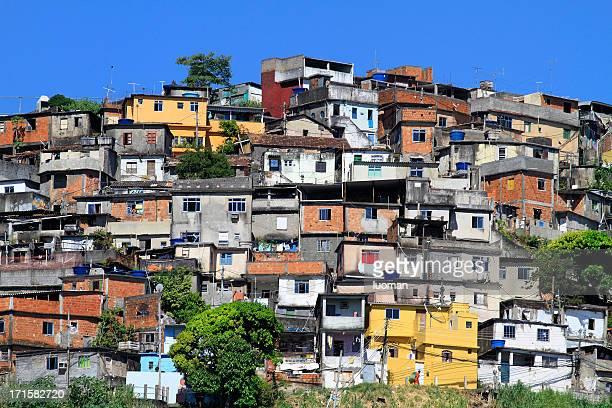 ファベーラでリオデジャネイロ