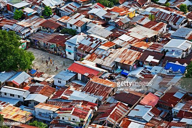 Favela, poor area, Cebu city, Phillipines