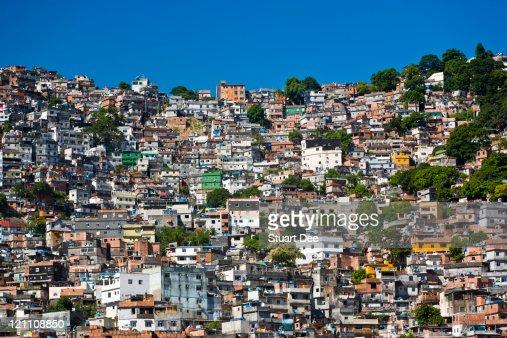 Favela (shanty town), Rio de Janeiro, Brazil