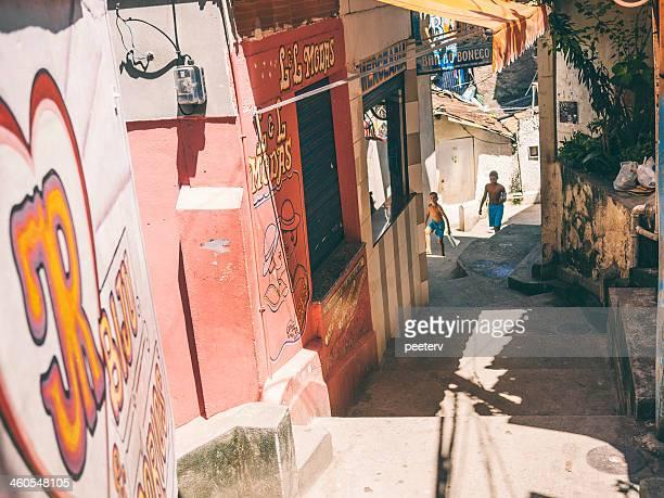 Favela strade.