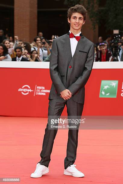 Favij attends a red carpet for 'Game Therapy' during the 10th Rome Film Fest on October 21 2015 in Rome Italy