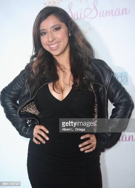 Faviola Rivas at Sai Suman's Official Hollywood Runway Fashion Show held at Sofitel Hotel on April 11 2017 in Los Angeles California