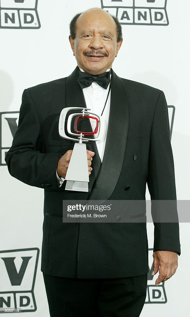 Favorite Cantankerous Couple award winner Actor Sherman Hemsley poses backstage at the 2nd Annual TV Land Awards held on March 7, 2004 at The Hollywood Palladium, in Hollywood, California.