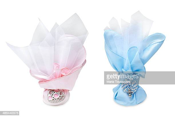 Favors with sugar almonds