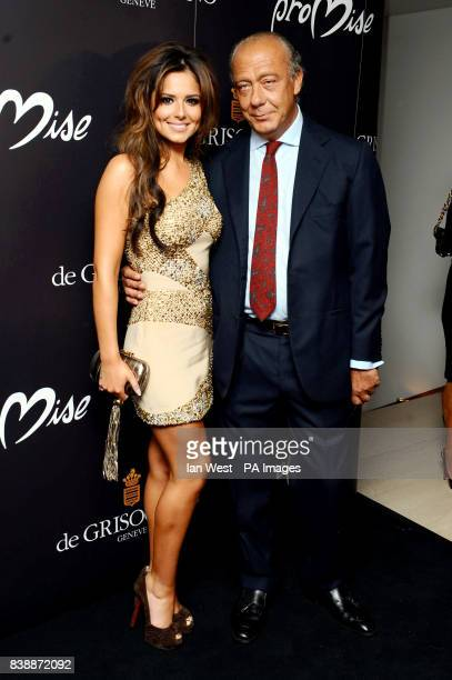Fawaz Gruosi and Cheryl Cole launches her new ring Promise with de Grisogono at NOBU in LondonPicture date Wednesday 29th September 2010