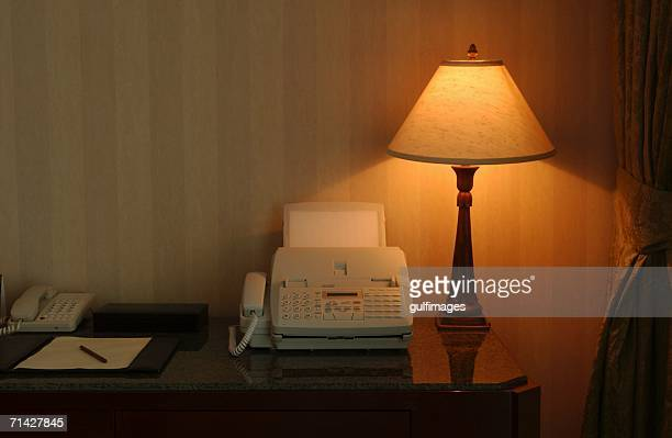 Fax Machine on a table