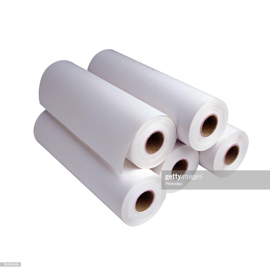 Бумага рулонная для плоттера 620 мм