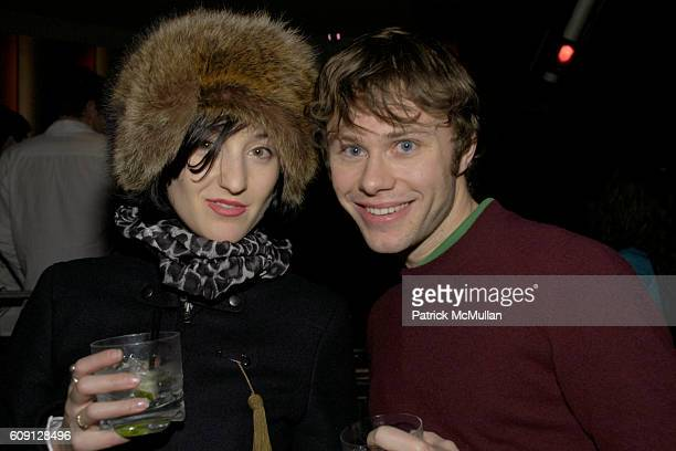 Fay CantorStephens and Paul Holmes attend MenStyleCom hosts Rag Bone Fall 2007 After Part at Tenjune on February 2 2007 in New York City