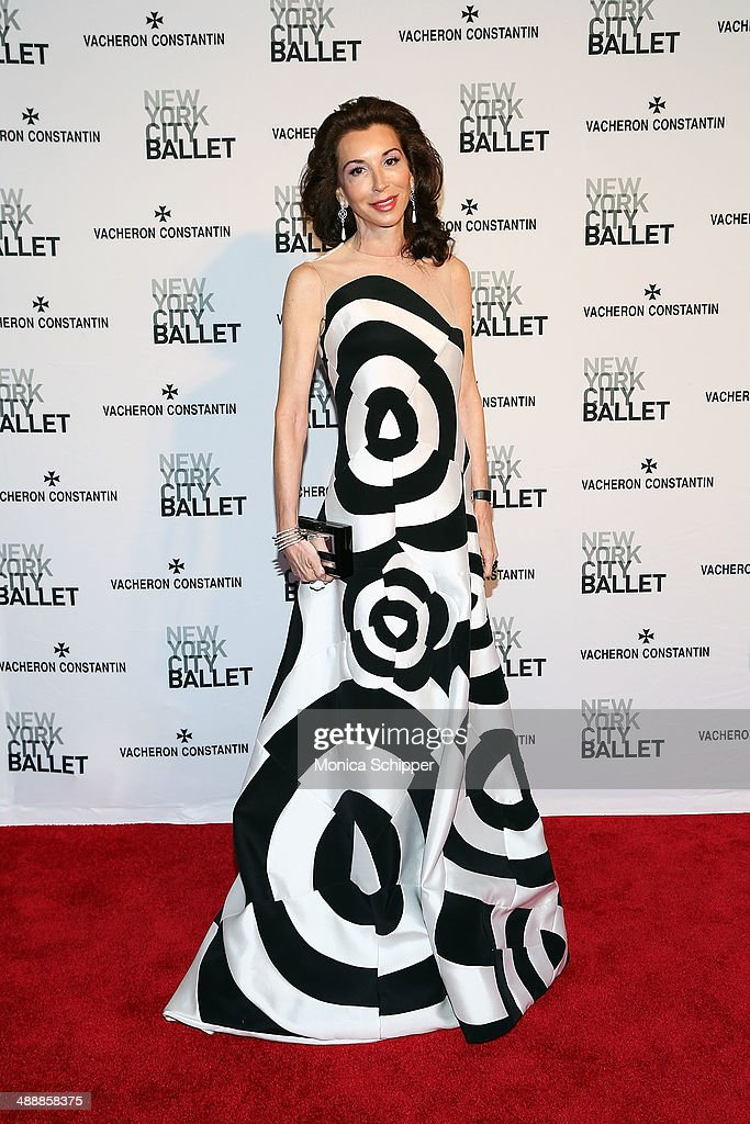 Fay Fendi attends the New York City Ballet 2014 Spring Gala at David H. Koch Theater, Lincoln Center on May 8, 2014 in New York City.