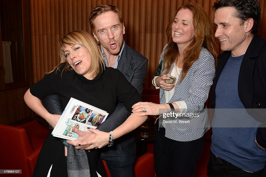 <a gi-track='captionPersonalityLinkClicked' href=/galleries/search?phrase=Fay+Ripley&family=editorial&specificpeople=837686 ng-click='$event.stopPropagation()'>Fay Ripley</a>, actor <a gi-track='captionPersonalityLinkClicked' href=/galleries/search?phrase=Damian+Lewis&family=editorial&specificpeople=206939 ng-click='$event.stopPropagation()'>Damian Lewis</a>, <a gi-track='captionPersonalityLinkClicked' href=/galleries/search?phrase=Daisy+Donovan&family=editorial&specificpeople=581390 ng-click='$event.stopPropagation()'>Daisy Donovan</a> and Alastair Mackenzie attend the launch of <a gi-track='captionPersonalityLinkClicked' href=/galleries/search?phrase=Fay+Ripley&family=editorial&specificpeople=837686 ng-click='$event.stopPropagation()'>Fay Ripley</a>'s new book 'Fay Makes it Easy' in The Club at Cafe Royal on March 19, 2014 in London, England.