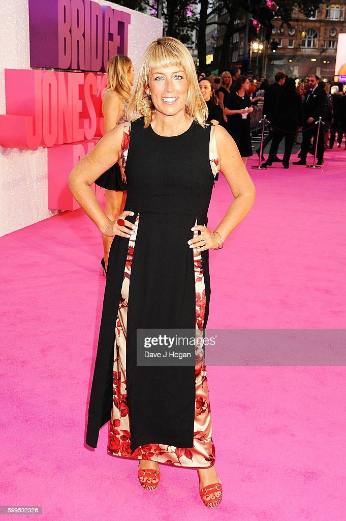Fay Ripley arrives for the world premiere of 'Bridget Jones's Baby' at Odeon Leicester Square on September 5, 2016 in London, England.