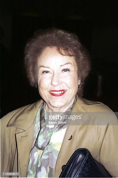 Fay Wray during Fay Wray Sighting in New York City May 1 1995 at Marriot Marquis in New York City New York United States