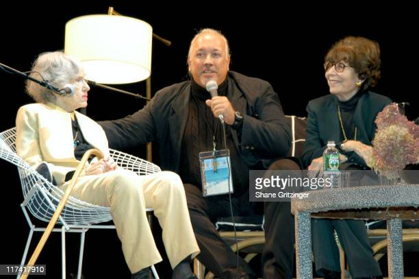 Fay Wray Rick McKay and Betty Comden during The 11th Annual Hamptons International Film Festival A Conversation with Fay Wray Betty Comden and...