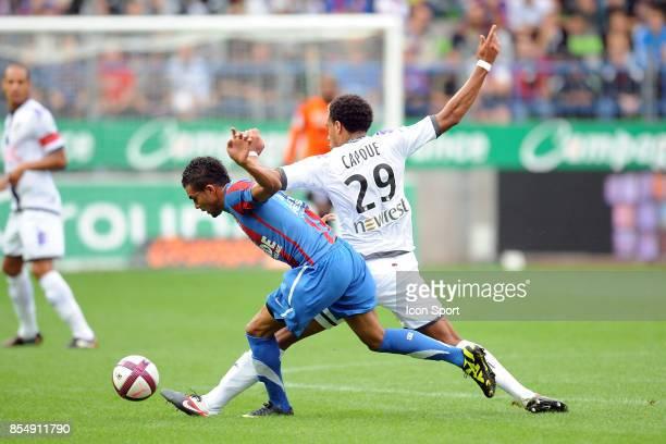 Faycal FAJR Etienne CAPOUE Caen / Toulouse 5eme journee de Ligue 1