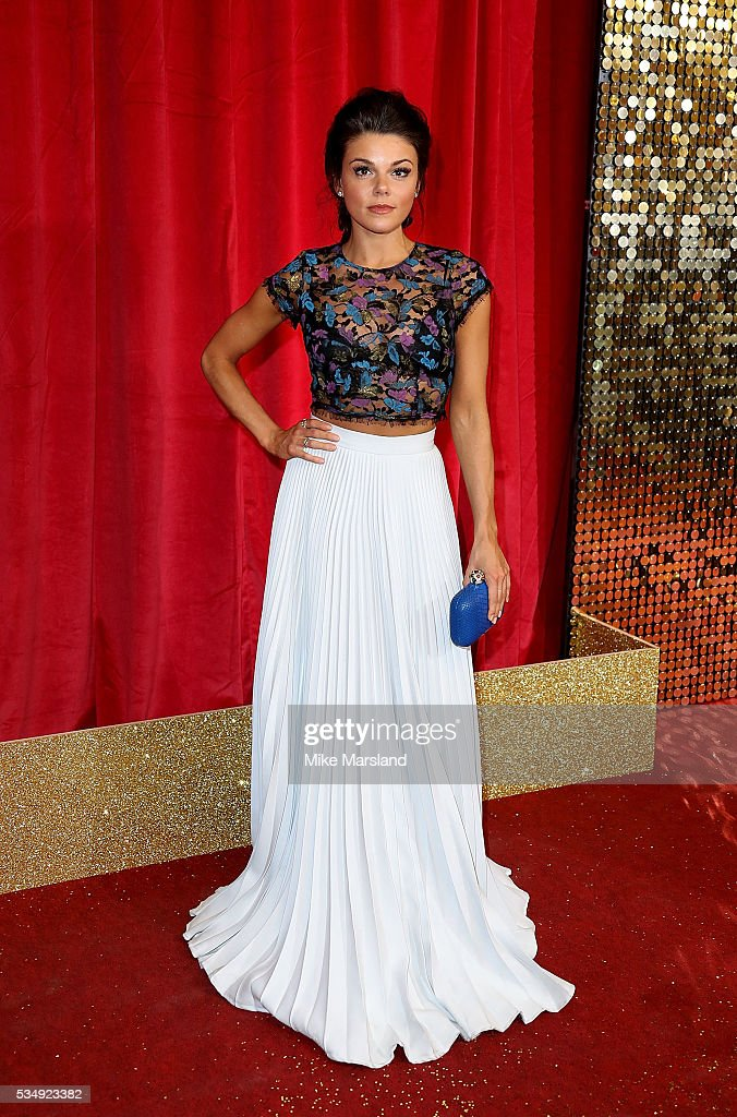 Faye Brooks attends the British Soap Awards 2016 at Hackney Empire on May 28, 2016 in London, England.