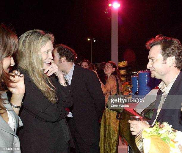 Faye Dunaway and Robert Pulcini during Los Angeles Premiere of HBO Films' and Fine Line Features' 'American Splendor' After Party at Cinerama Dome in...