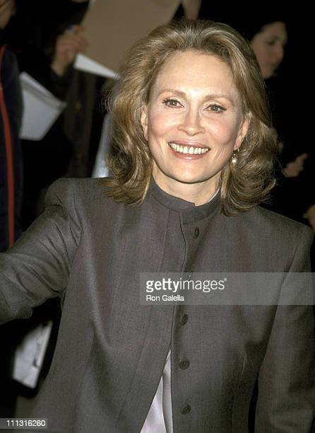 Faye Dunaway during 25th Anniversary Screening of 'Chinatown' at Guild Theater in New York New York United States